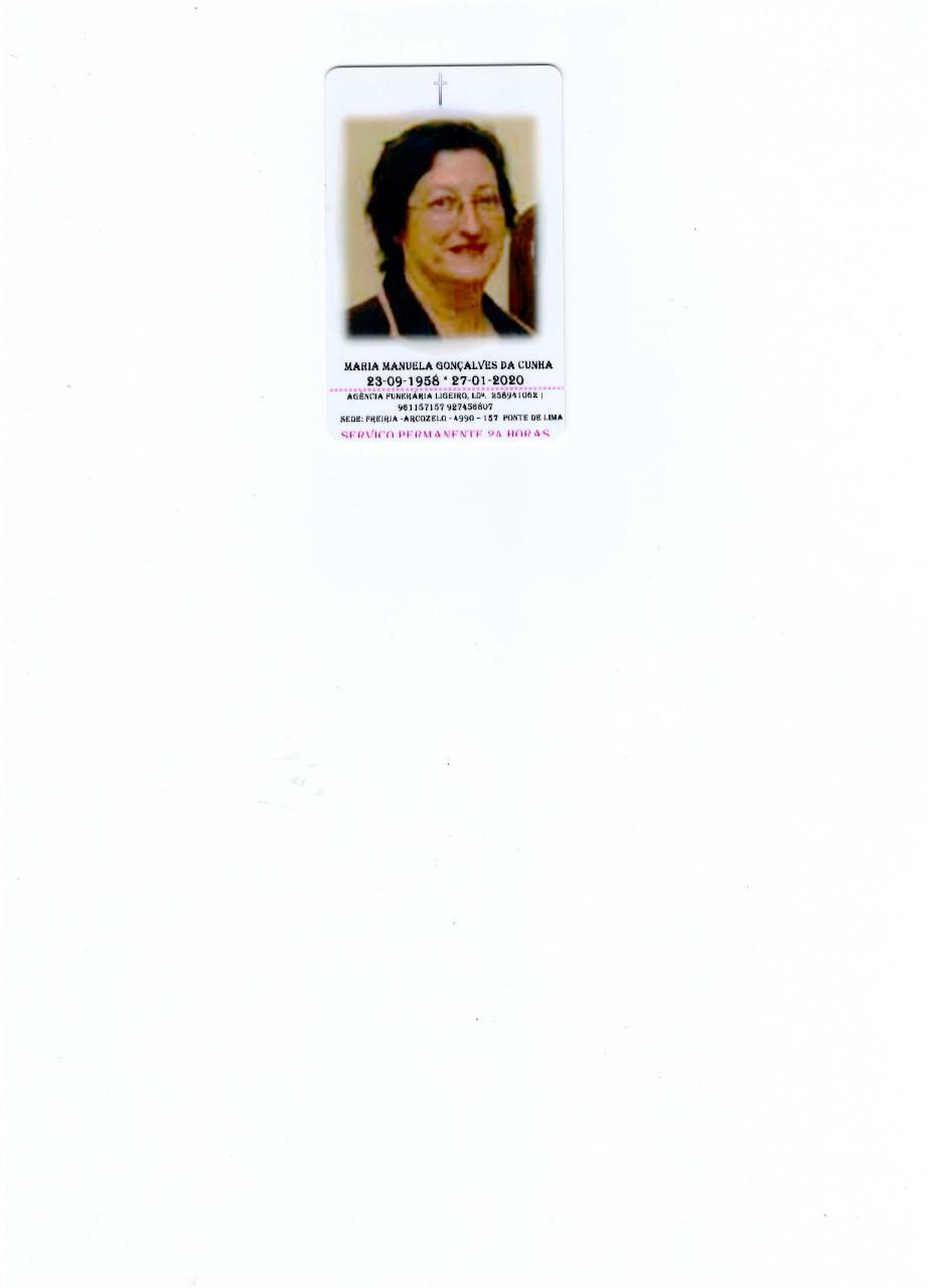 Maria Manuela Gonçalves da Cunha