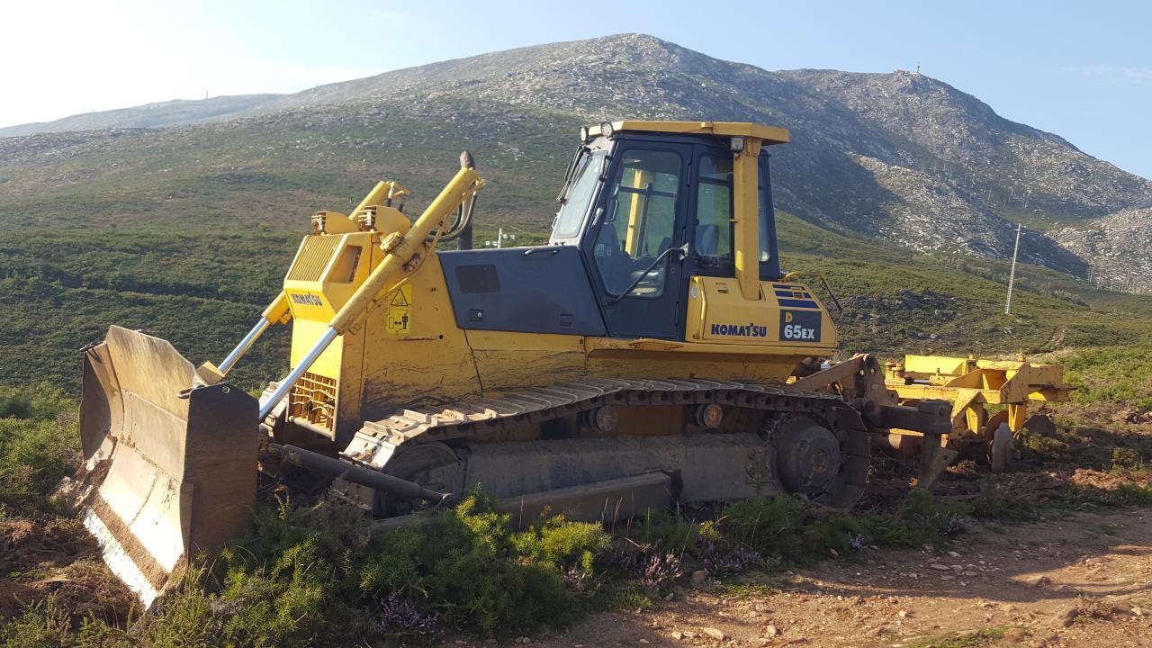 Máquina para tratamento florestal
