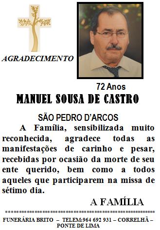 Manuel Sousa de Castro