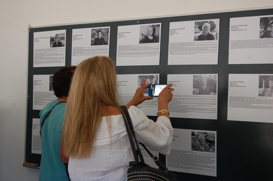 """Exposição de Fotografias e Vidas """"P'ra Lá dos Oitenta"""""""