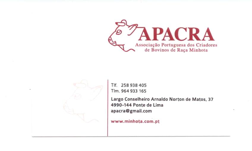 APACRA-Associação Portuguesa dos Criadores de Bovinos de Raça Minhota