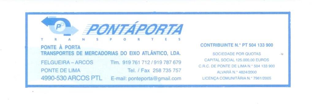 PONTÁPORTA-Transportes